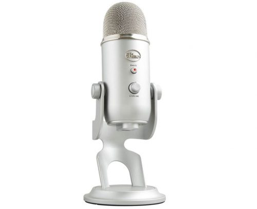 microfono youtuber Blue Microphones Yeti